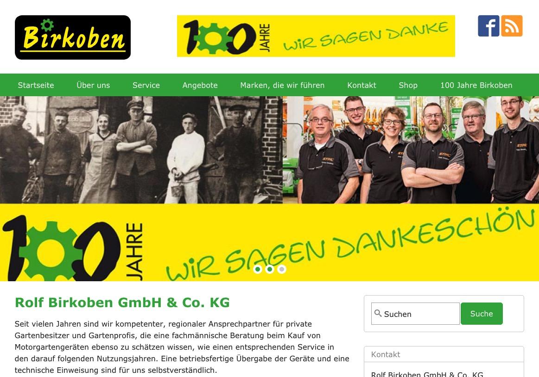 Birkoben Homepage