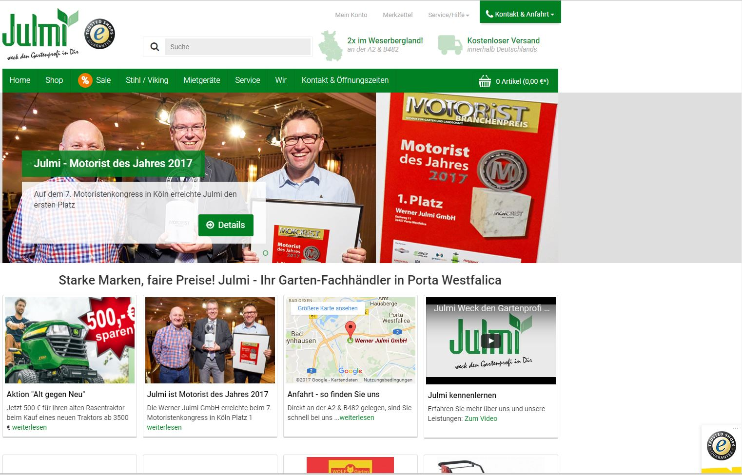julmi-online.de Homepage