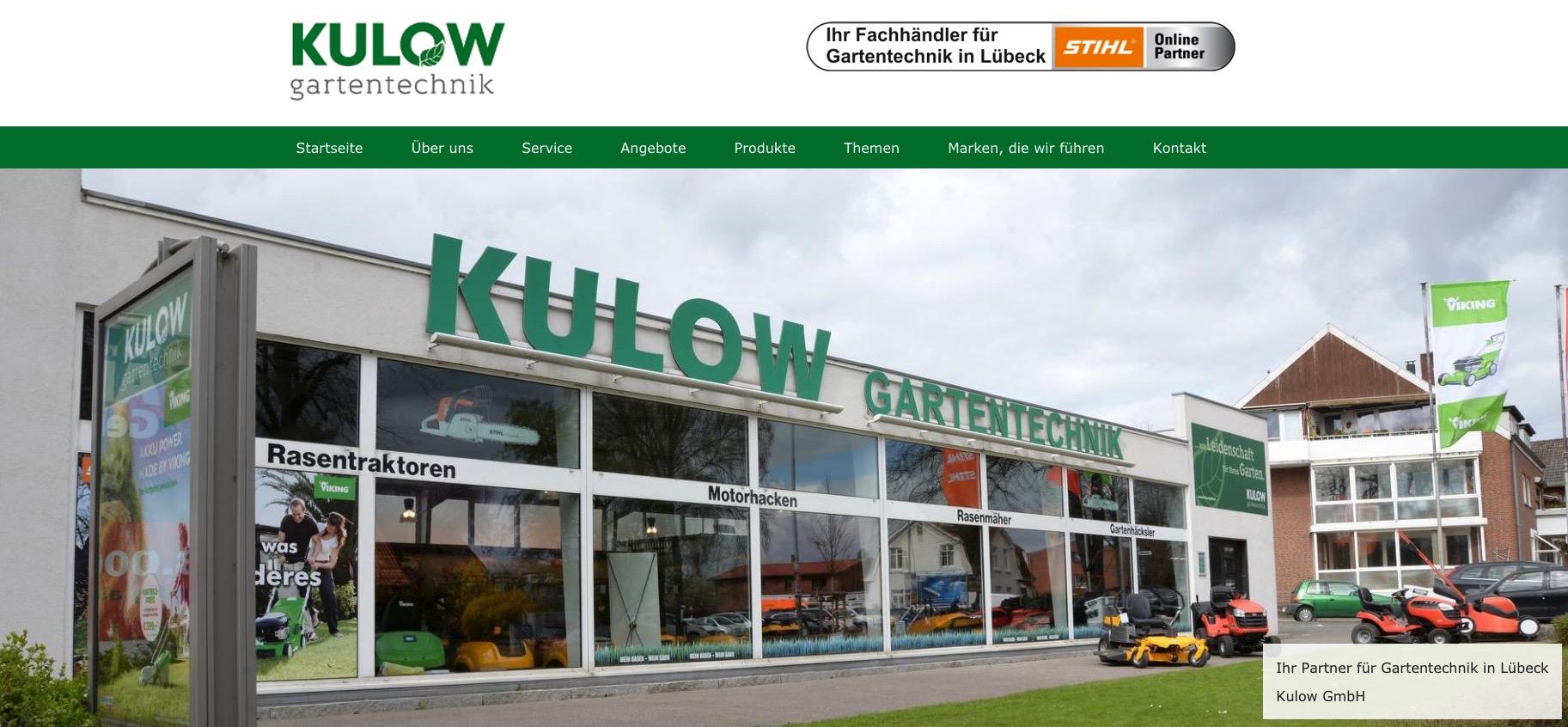 Kulow Homepage in 23558 Lübeck
