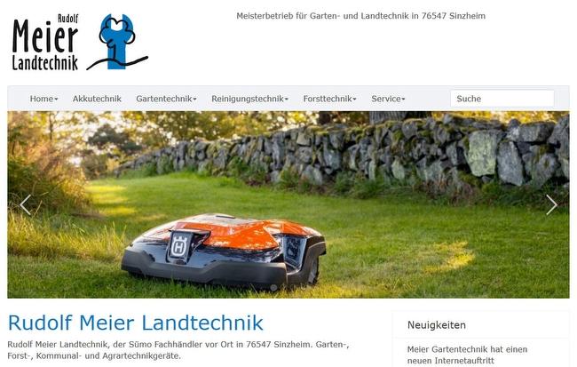Rudolf Meier Landtechnik, Ihr Sümo Fachhändler in Sinzheim