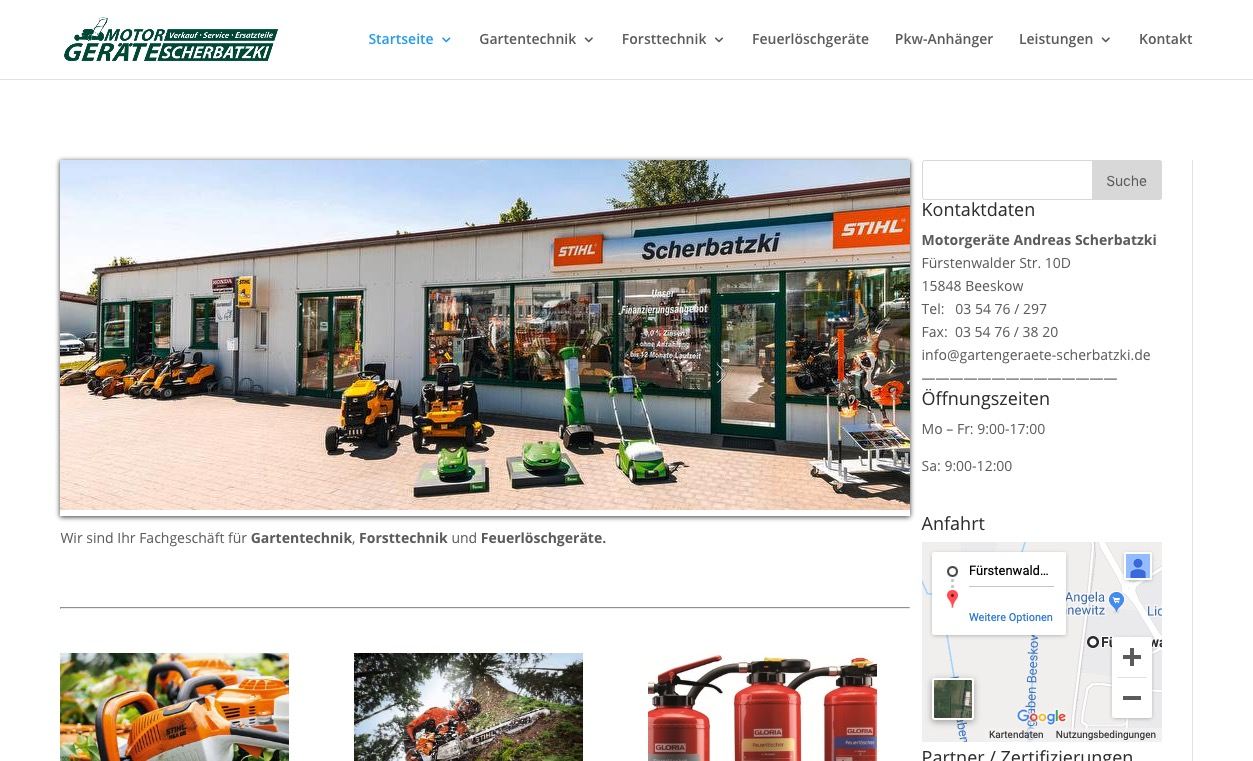 Scherbatzki Homepage