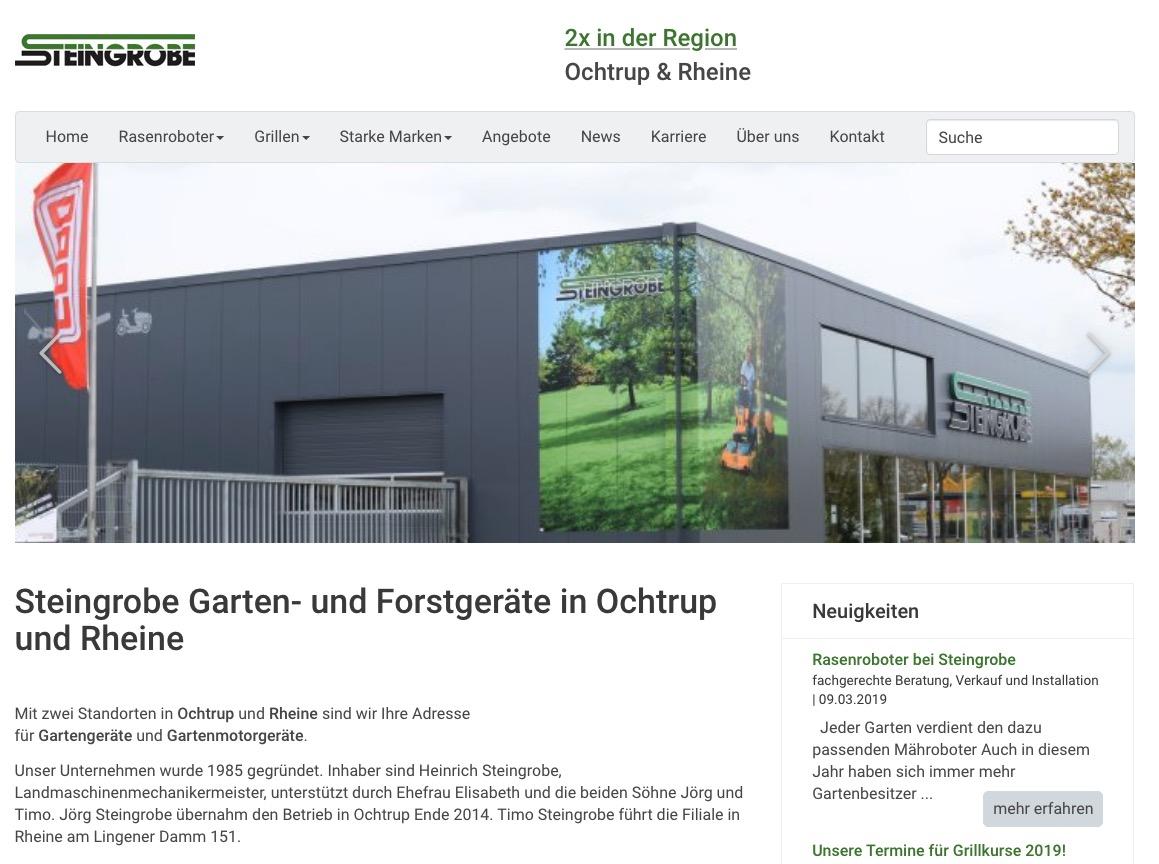Steingrobe Homepage