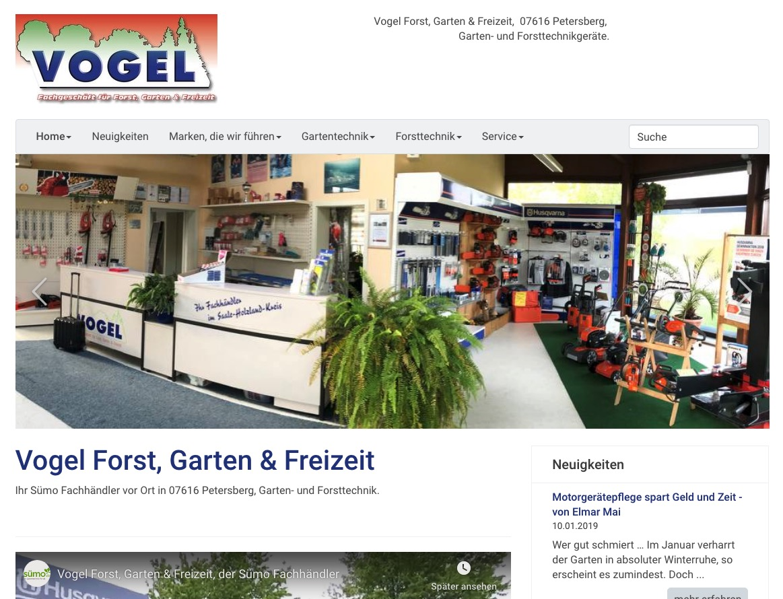Vogel Forst, Garten & Freizeit in 07616 Petersberg