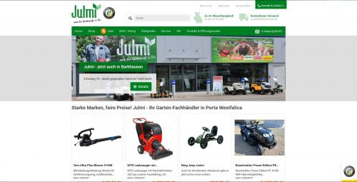 Julmi Homepage Shop
